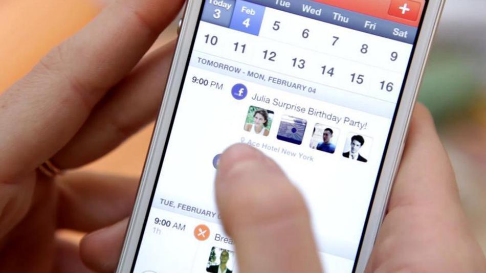 foursquare前设计师推出iphone社交型日历v社交在手机键华为hi哪里图片