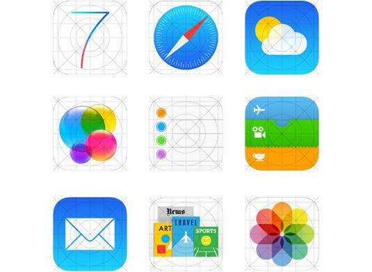 """""""能让你分块的设计,并且能够构建界面中图标的整体感."""
