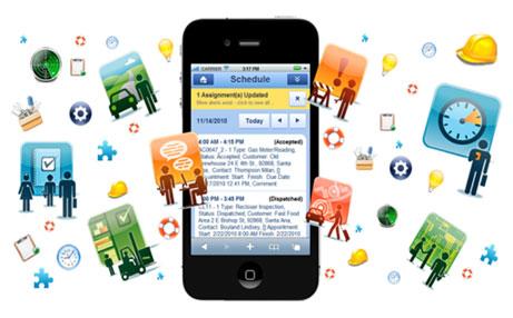 手机版wps组织结构图