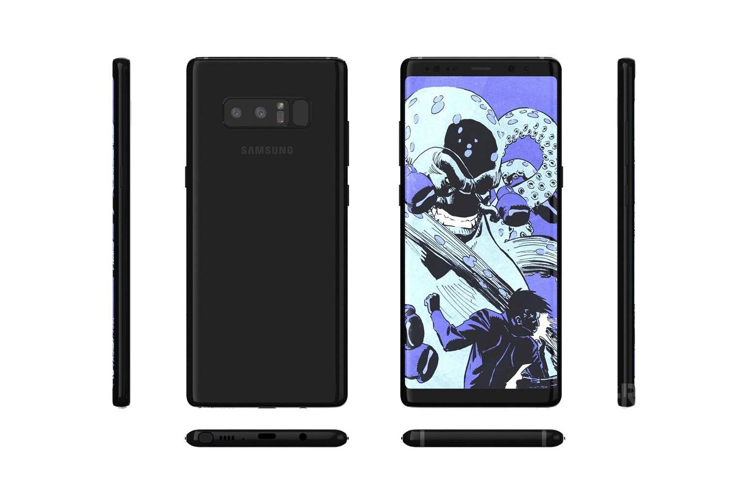 还看什么发布会 这就是今晚发布的三星Galaxy Note8