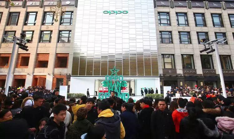 OPPO 的品牌升级,从上海超级旗舰店开始