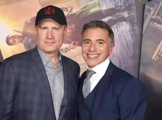 ▲ 凯文·费奇(左)与Ricky Strauss(右)